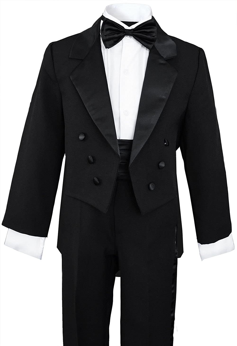 d51b0c6f0eb Boys Black Tuxedo with Tail Outfit Set: Amazon.ca: Clothing & Accessories