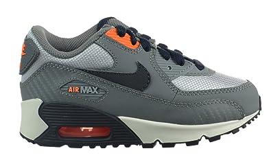fc77a79be240 Nike Air Max 90 (PS) Preschool Kids  Shoes Cool Grey Dark Obsidian