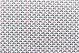 Car Print White Colour 100% Cotton Fabric **FREE UK POST** Kids Children Nursery Early Learning Fun Craft Small Cars Boys Fabric Zoom Bunting Bed Sheet Cover Quilting Material Patchwork (Sample (10cm x 10cm))
