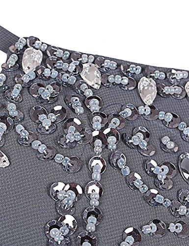 Bal Champagne Soir Perles Asbridal Longues Pour Femmes Bretelles En Mousseline De Soie Sans Dossier Robes Formelles