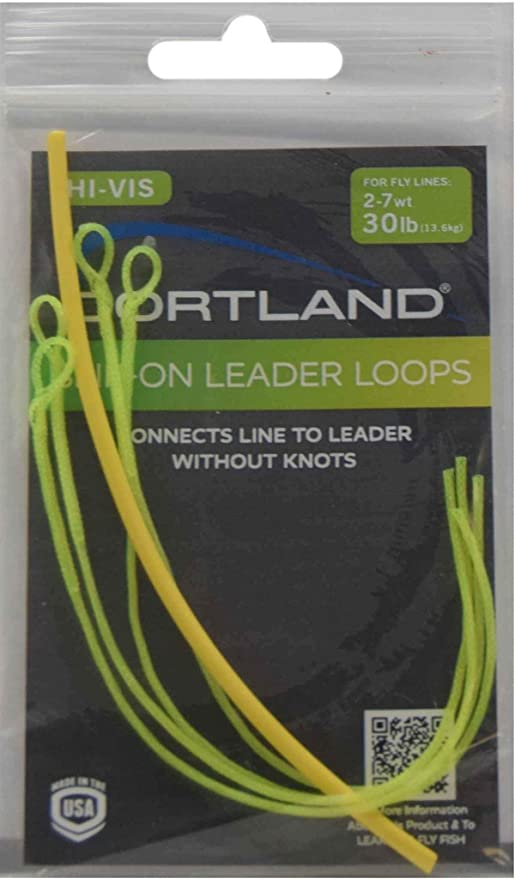 Braided Leader  Loops 1 doubled looped connector 7 x 30lb bs
