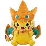"Pokemon Plush Pikazard Pikachu Stuffed Animal Doll Toys 10"""