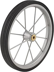 Apex SC9013-P03 Shopping Cart Rubber and Steel Wheel