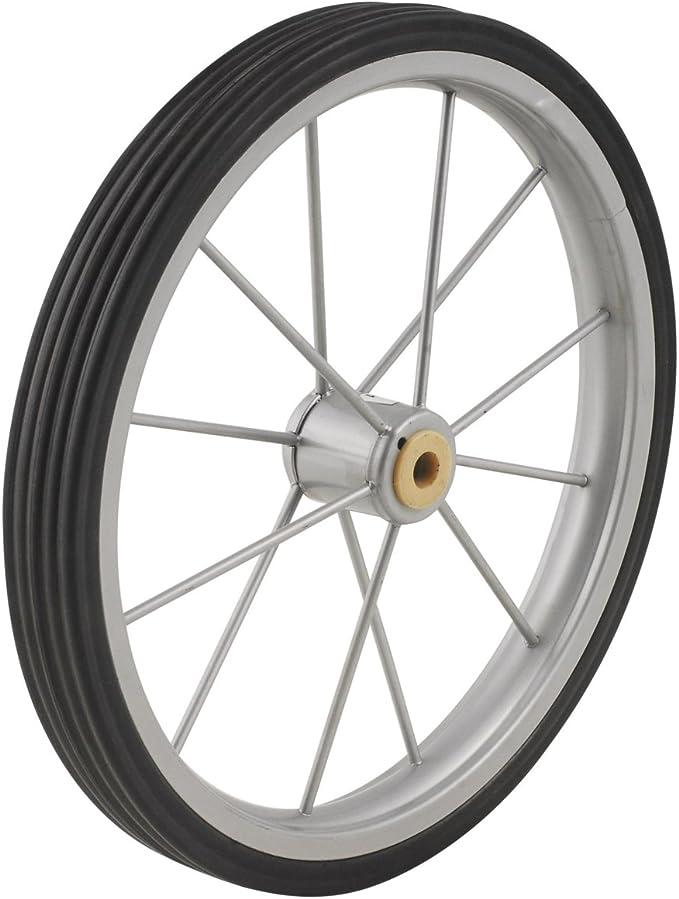 Apex SC9014-P02 Plastic Hub Shopping Cart Rubber Wheel 5 H x 7//8 W x 5 L in.