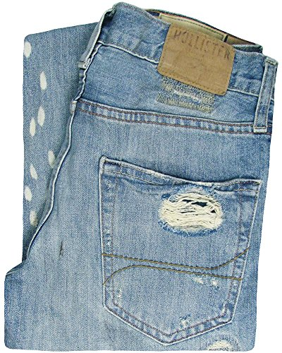 Hollister Men's Huntington Slim Straight Fit Jeans W28 L30