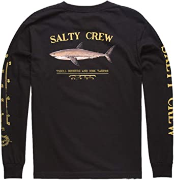 Salty Crew Palomar Boys LS Tee Black XL