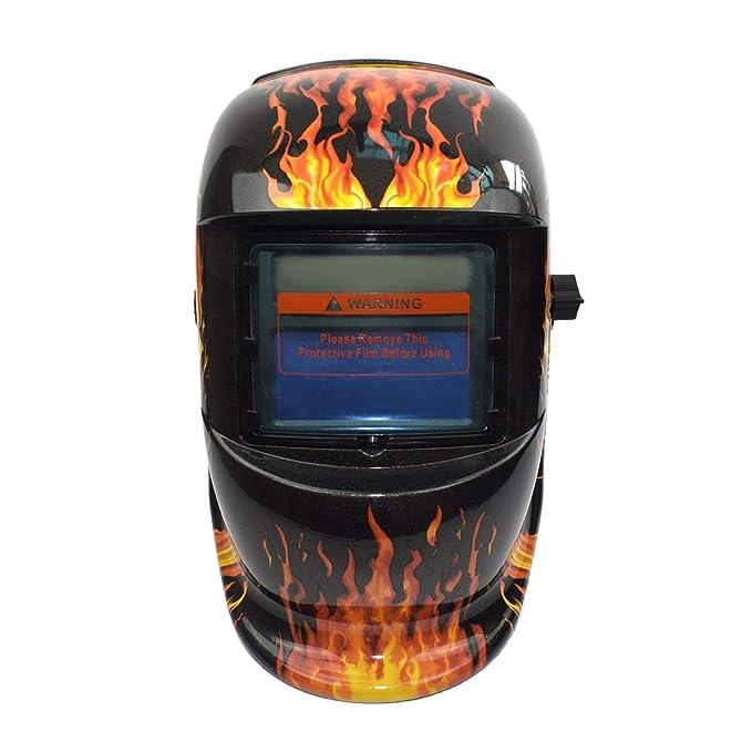 Solar Oscurecimiento Automático TIG MIG MMA Máscara de Soldadura Eléctrica Casco Soldador Cap Lente Para Máquina de Soldadura Cortador de Plasma: Amazon.es: ...