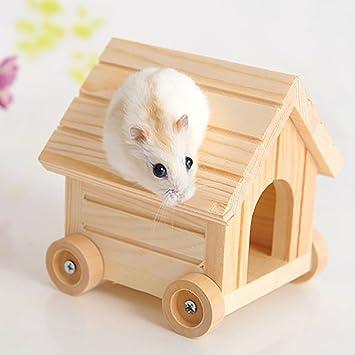 YK.Hapyshop Casa de hámster para Dormir, ratón, Rata, Rata Nido ...