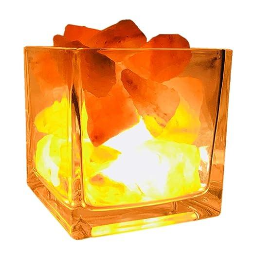 de luz Alimentación de Lámpara nocturna De Sal Lámparas lava vf76IYgby