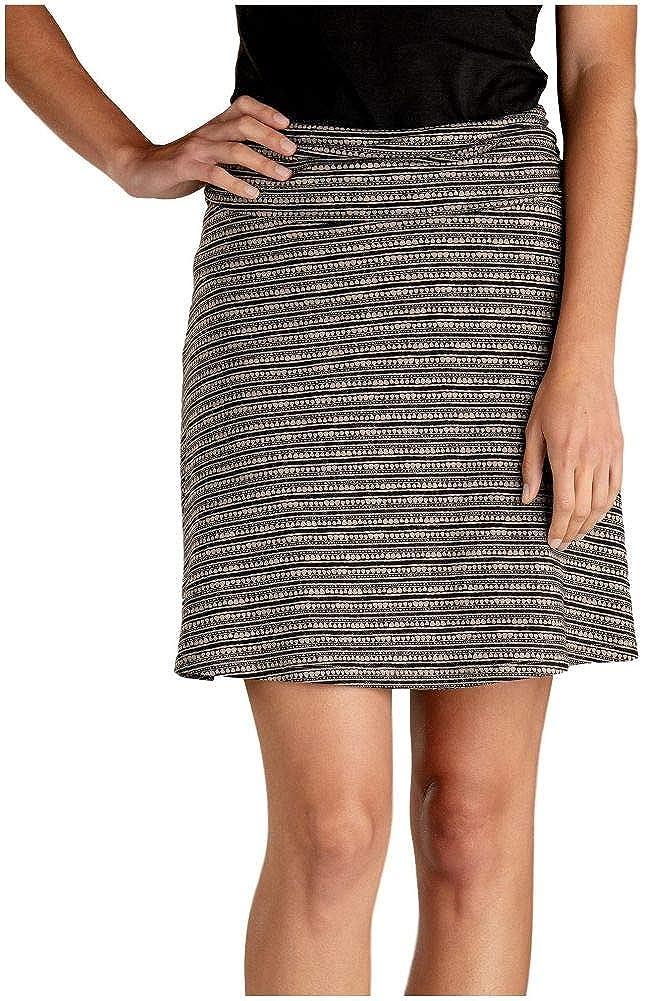 Cocoa Stripe Print Toad&Co Women's Chaka Skirt