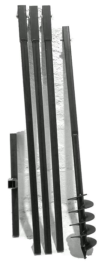 120 Mm 4 Meter Set Trivella Trivella Per Giardinaggio Fontana