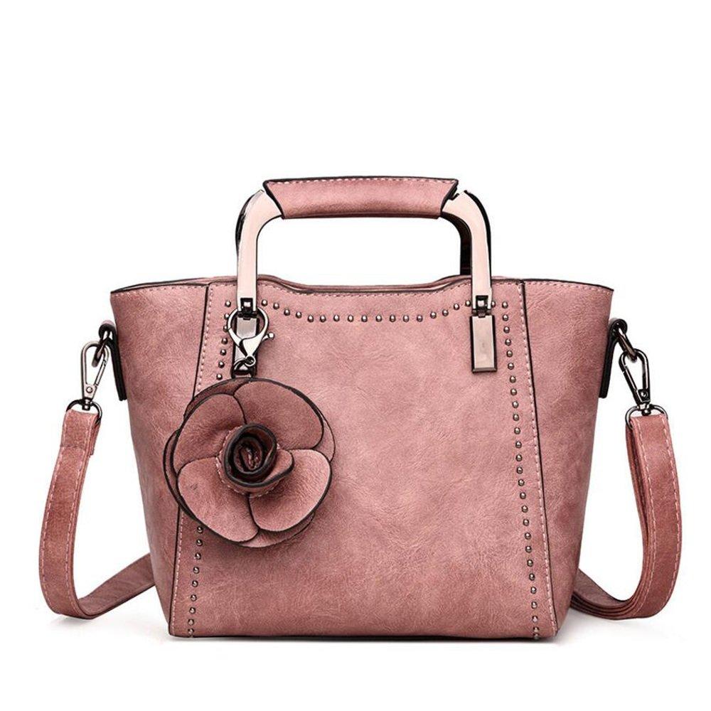 JIANFCR Four Seasons New Handtasche - Niet Dekorative Handtasche - Blume Einfache Armtasche - Wild Fashion Schulter Messenger Bag