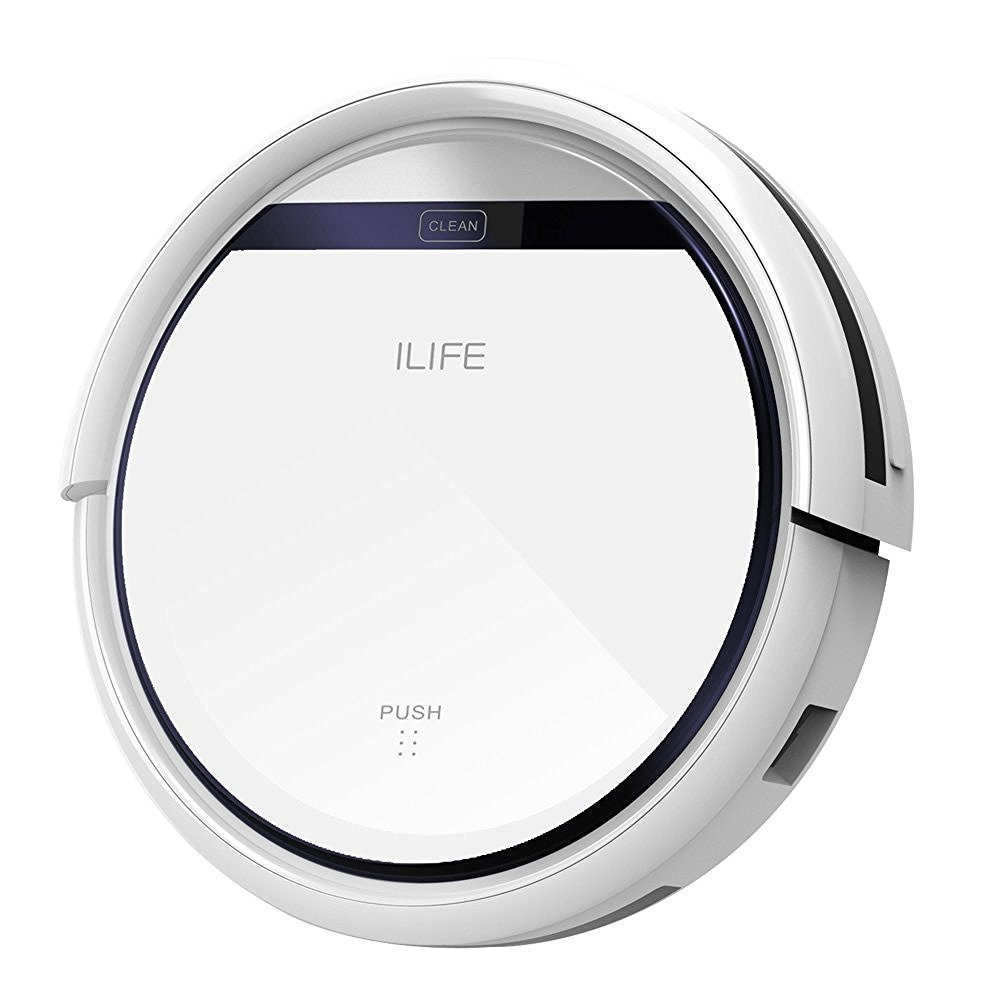 ILIFE V3s Pro Aspirateur Robot 2017 Nouvelle Version,Blanc Perle: Amazon.es: Hogar