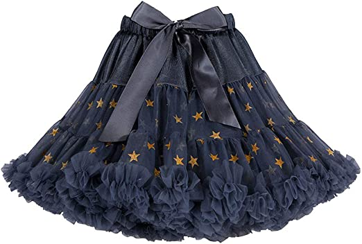 SK Studio Girls Tutu Tulle Skirt Cute Petticoat Dress