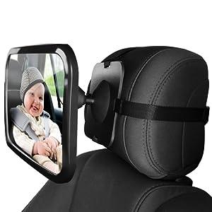 ZUOAO Miroirs Auto Bébés Rétroviseur de Surveillance Bébé