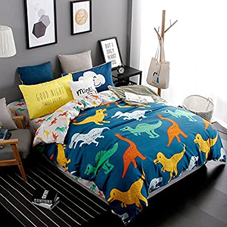 Cooper girl Rainbow Fantsy Mermaid Scale Duvet Cover Set Twin Soft Microfiber Polyester 1 Duvet Cover and 1 Pillow Sham Two Piece