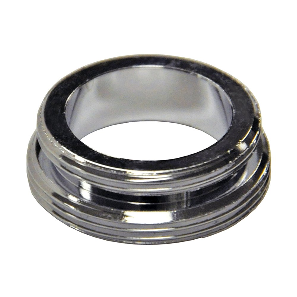 Danco 10520 Faucet Aerator Adapter, For Use With 15/16 in Female Thread Adapters, Brass, Chrome Plated