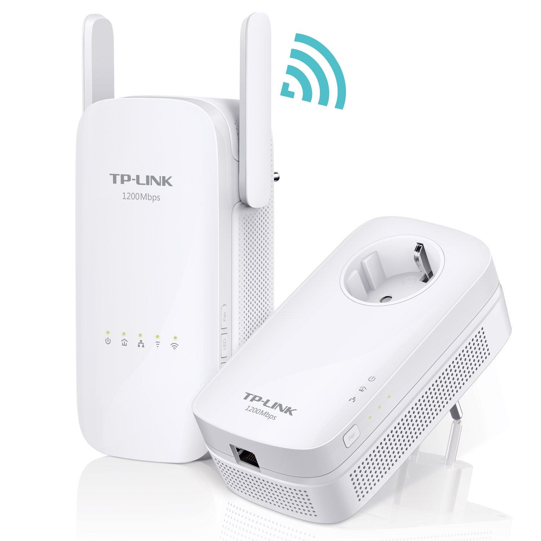 TP-Link AC1350 TL-WPA8630 - Kit Extensor de Red Powerline Ver 2.0(