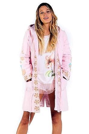 Savage culture Ischia I, Parka Femme, Pink 009, Medium