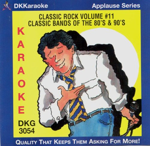 DKKaraoke Applause Series: Classic Bands of the 80's and 90's (Karaoke Clash)