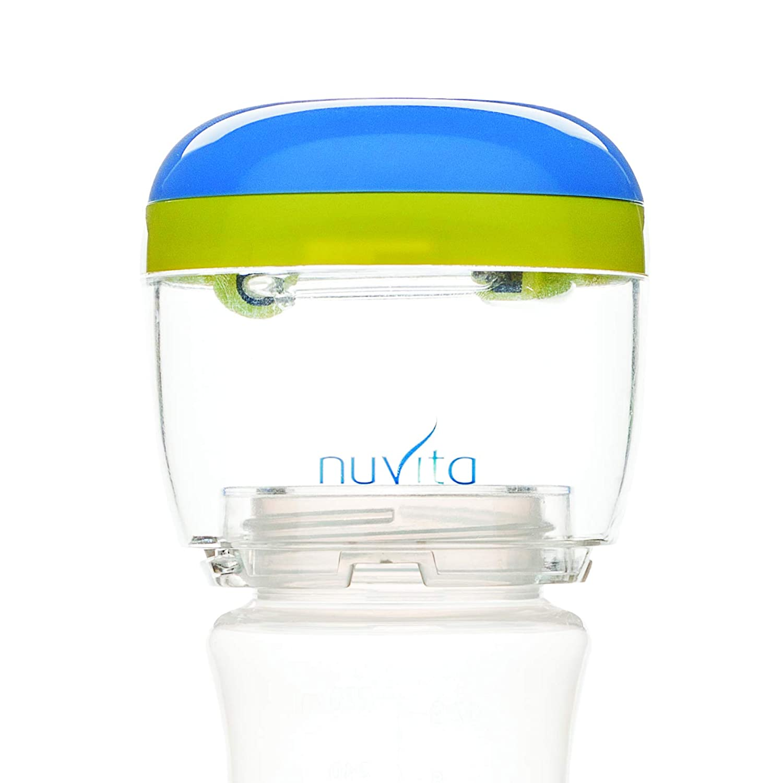 Nuvita 1556 MellyPlus UV Sterilisator Tragbarer Babyflaschen Sterilisator Sterilisationsger/ät f/ür Unterwegs S/äuglingspflege BPA Frei UV Desinfektion