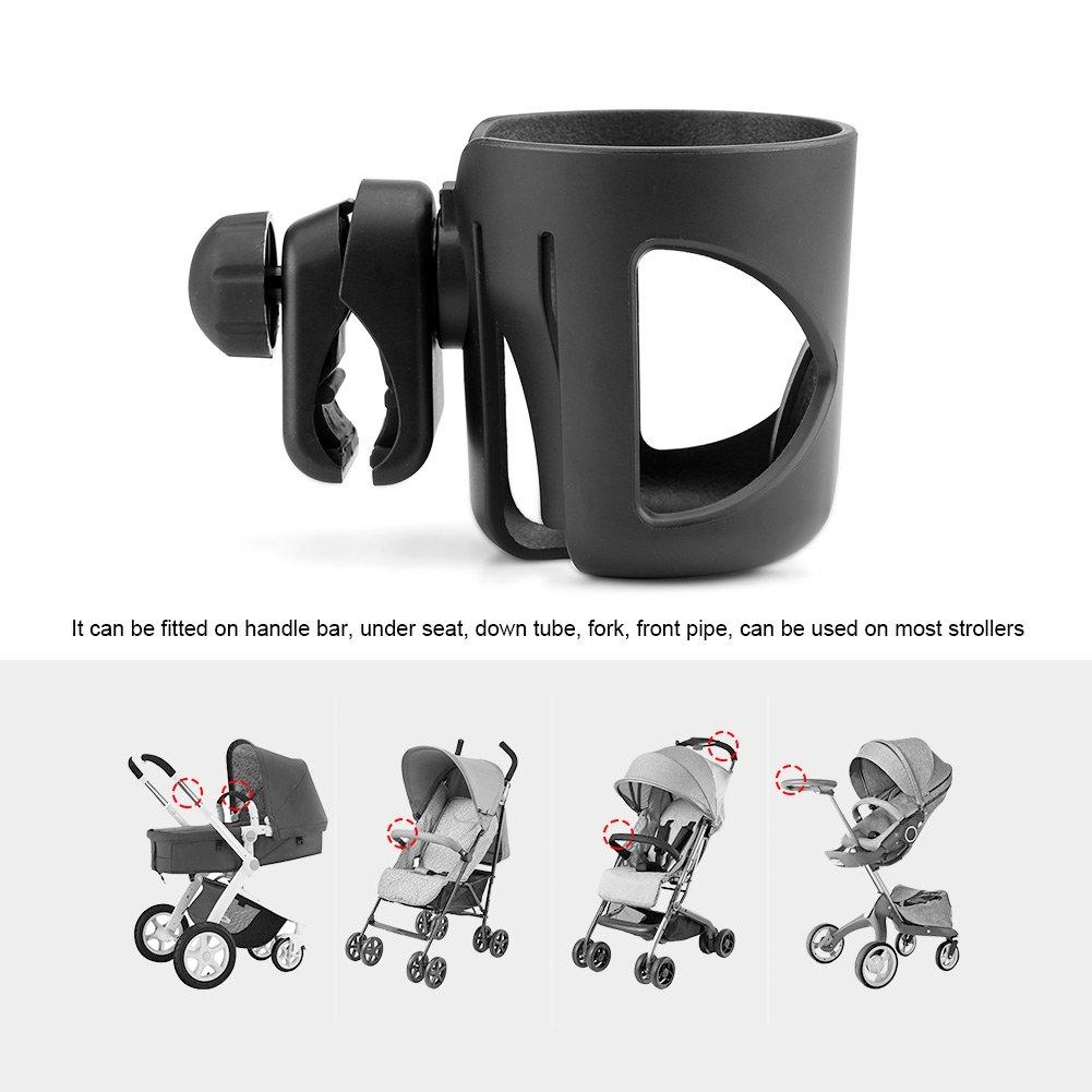 Verstellbare Universal sostenedor Baby-Becherhalter-Wagen Fl/üssigkeiten