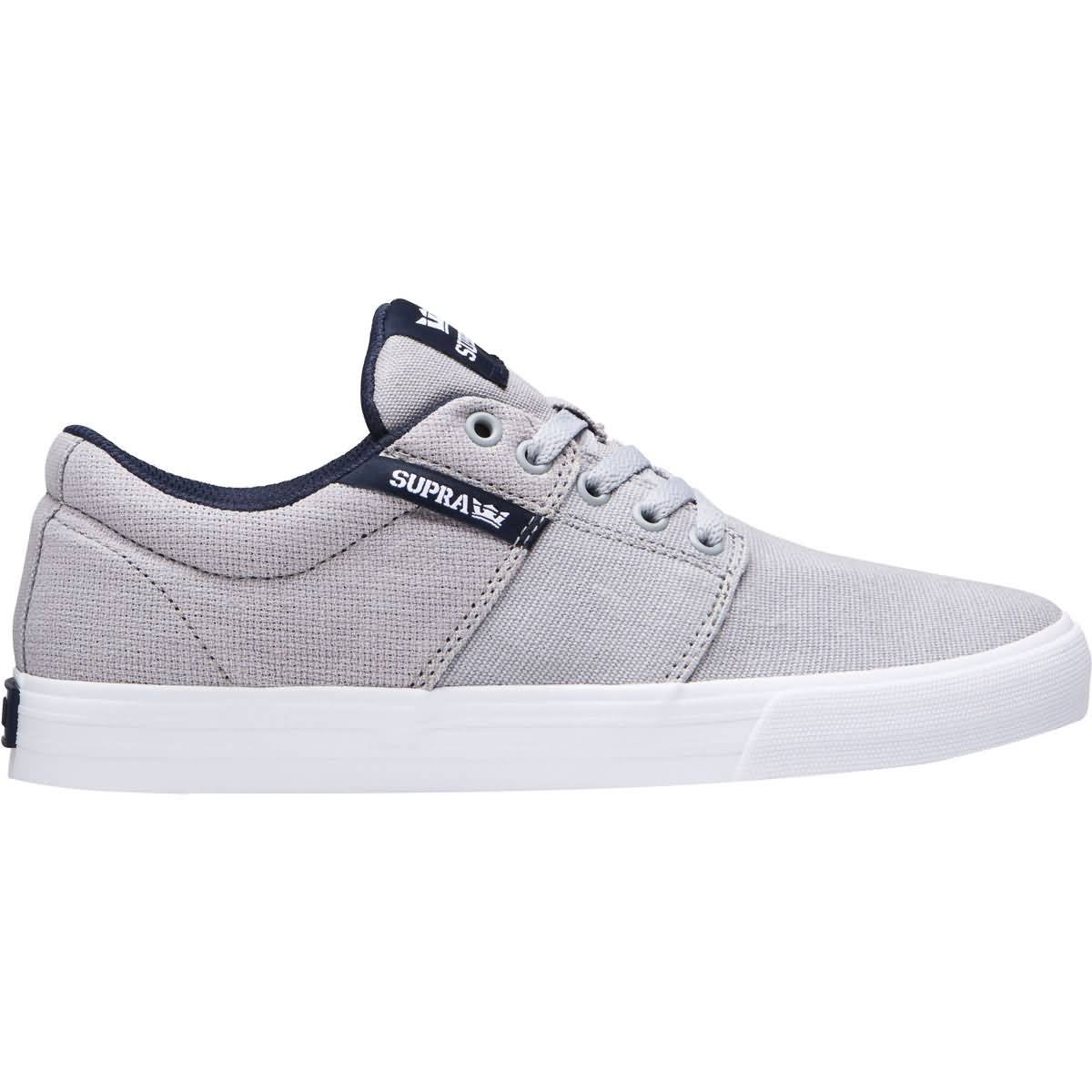 Galleon Supra Men's Stacks Vulc II '18 Shoes,8,Lt Grey