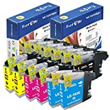 PrintOxe™ Compatible 12 Ink Cartridges for LC 101XL / LC 103XL ; 6 Black, 2 Cyan, 2 Magenta, & 2 Yellow LC101 LC 103 Non OEM for use in Printers: DCP J152W & MFC models J245 , J285DW , J4310DW , J4410DW , J450DW , J4510DW , J4610DW , J470DW , J4710DW , J475DW , J650DW , J6520DW , J6720DW , J6920DW , J870DW , & J875DW. Exclusively sold by PanContinent