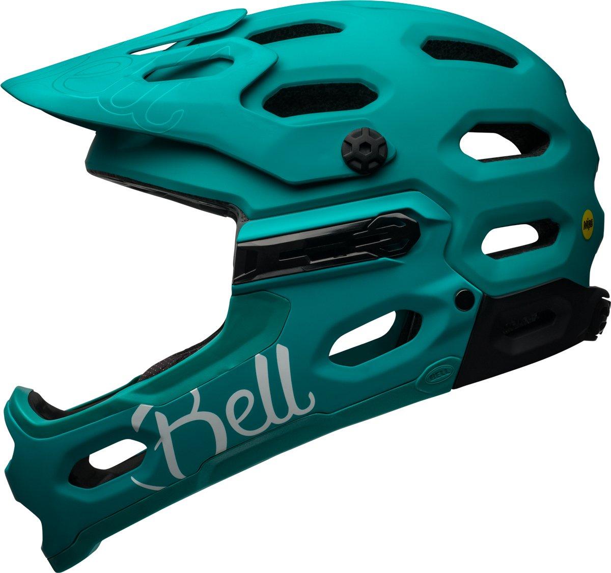 BELL Super 3R MIPS Damen MTB Fahrrad Helm grün 2017