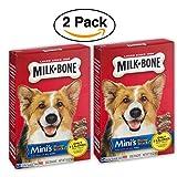 Cheap 2 Pack – Milk-Bone Mini's Flavor Snacks Beef, Chicken & Bacon Flavored Biscuit Dog Treats