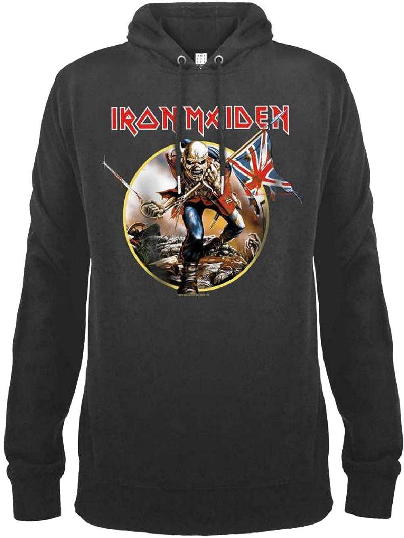 Amplified Iron Maiden Trooper Drum Hoody