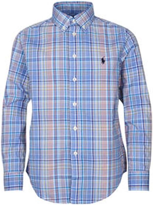 Polo Ralph Lauren - LS BD TP SHT - Camisa Cuadros NIÑO: Amazon.es: Ropa y accesorios