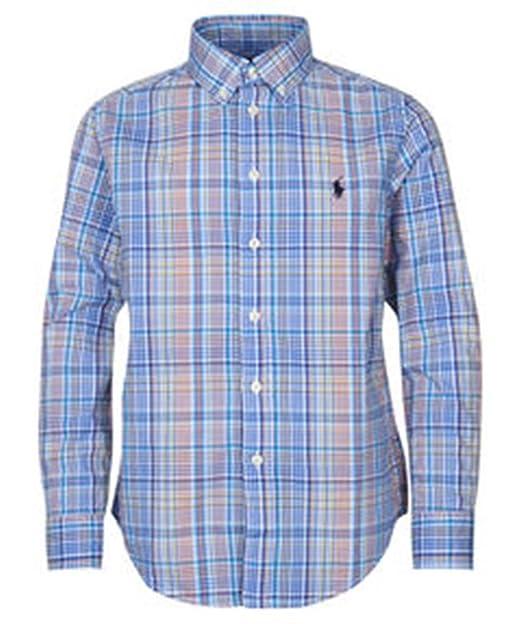 Polo Ralph Lauren LS BD TP SHT - Camisa Cuadros Niño: Amazon.es ...