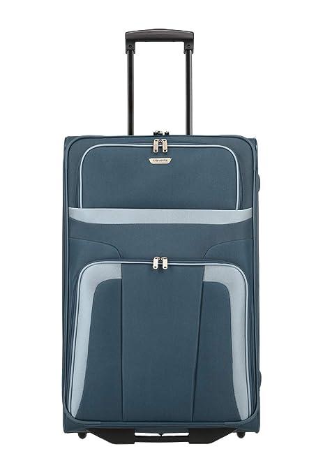 Travelite Trolley para Portátil, 80 litros, 73 cm, Azul