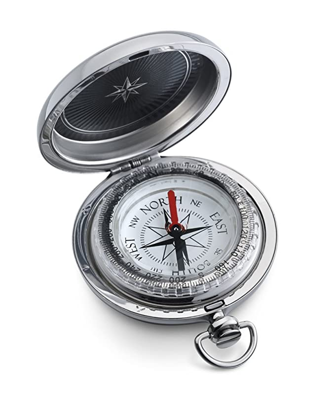 Stanley London Personalized Dalvey Pocket Compass Engraved (Classic/Sport Large Model)