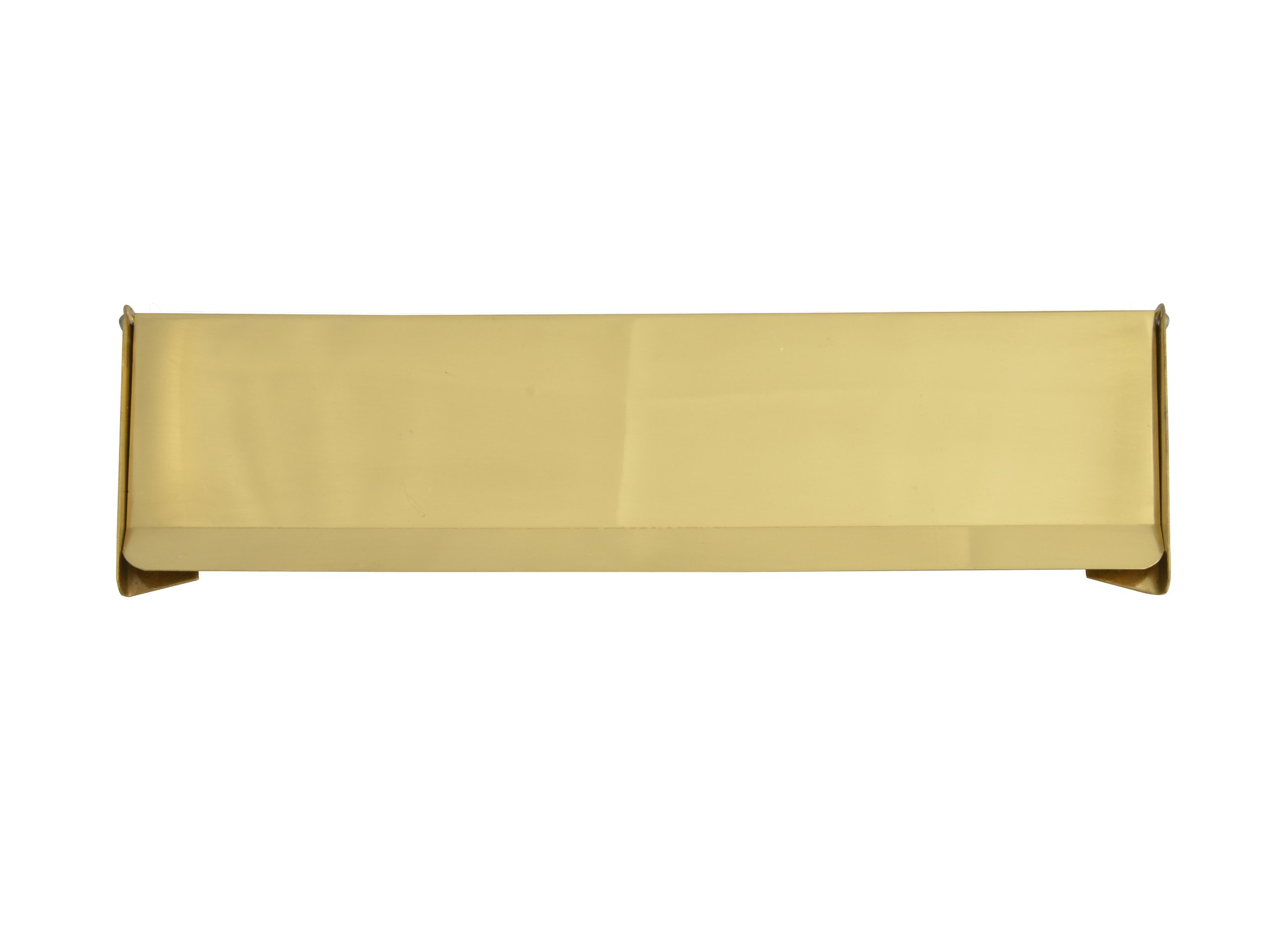 Forge Internal Letter Flap - Brass Finish 280mm