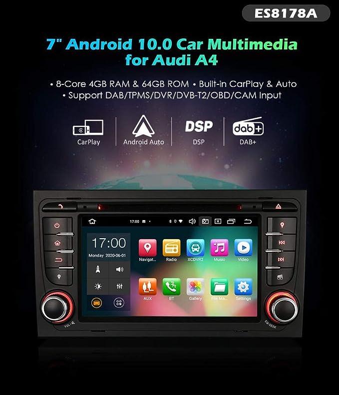 Autoradio Erisin Es8178a 7 Octa Core 64gb Android Elektronik