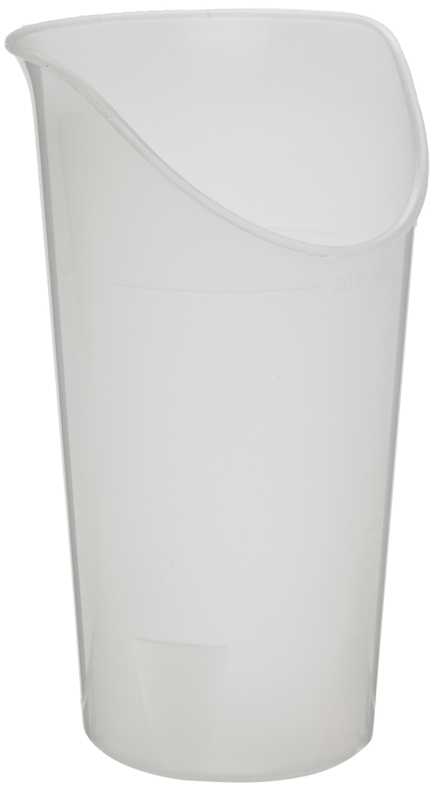Ableware Clear Nosey Cup, 6-Pack (745930614)