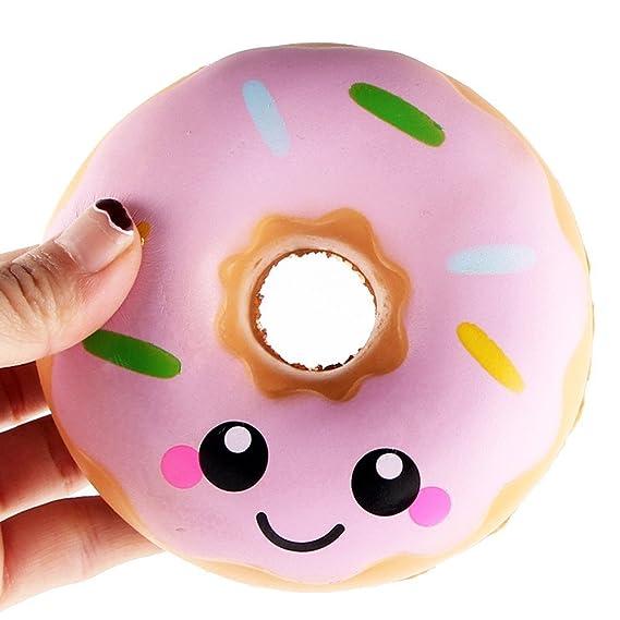 iSuper suave juguete Squishy Jumbo rosquilla crema Stress Reliever juguete 11 cm