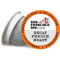 SAN FRANCISCO BAY SF Coffee OneCUP Ct Swiss Water Processed Dark Compostable Coffee Pods K Cup Compatible including…