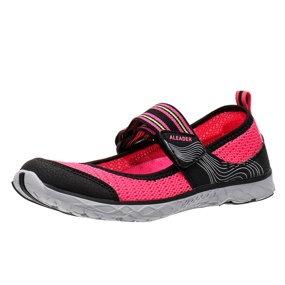 ALEADER Women's Mary Jane Water Shoes B078X9GC5R 6.5 B(M) US|Watermelon