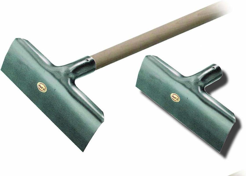 4701-Ratavello raschiafango in lamiera zincata s//manico 35x11