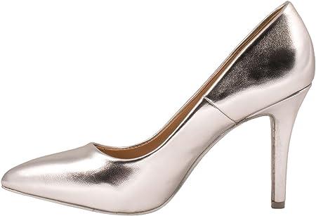 Elara Zapato de Tacón Alto Mujer Agudo Estilete Chunkyrayan