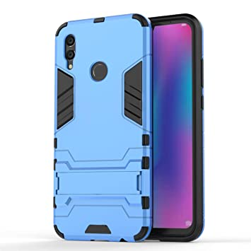FLHTZS Funda Huawei P Smart (2019),Carcasa Huawei P Smart (2019) Stent Invisible TPU + PC combinación Aspecto,Ajuste Simple Elegante Generoso ...