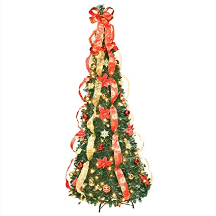 Image Unavailable - Amazon.com: Fox Valley Traders 6 Ft Christmas Spruce Prelit