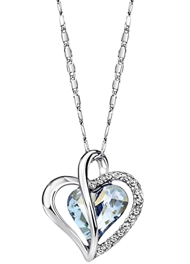 white sterling shaped price heart sapphires order now journey silver created check necklace