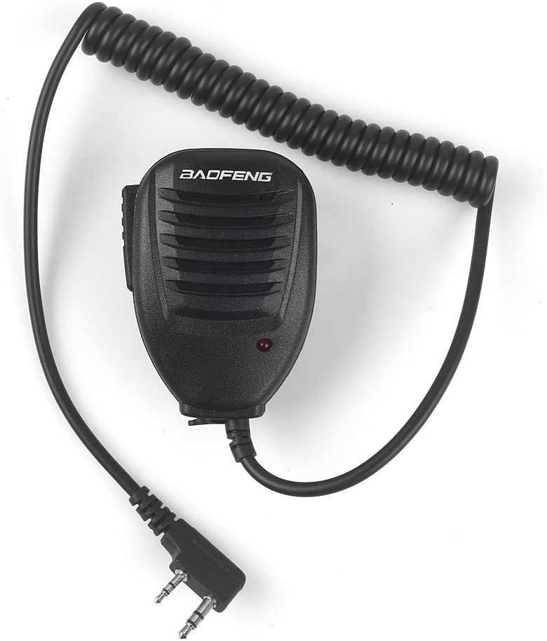 BAOFENG Speaker MIC for BAOFENG UV-8R 8RA 8RB 8RC 8RD 8RE 8REPLUS 8R+ 8R  EX, 8RX8