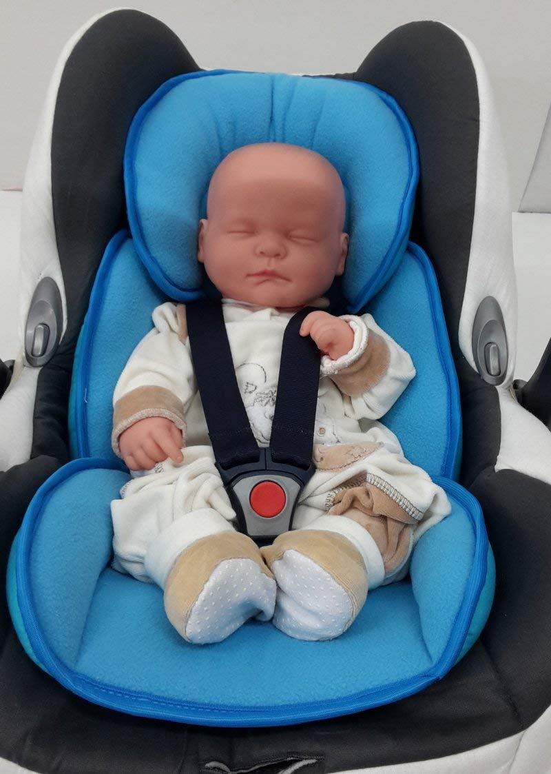 Sitzverkleinerer ** SOFTY MAXI ** NeugeborenenEinsatz Sommer Winterseite