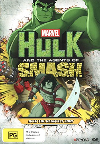 Marvel Hulk ant the Agents of SMASH Into the Negative Zone | NON-USA Format | PAL | Region 4 Import - Australia