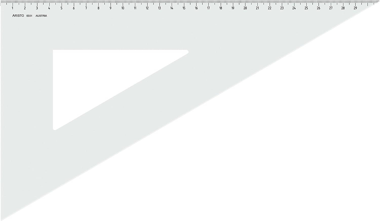 Aristo AR6031 Set Square 60/° Perspex 360 mm Transparent